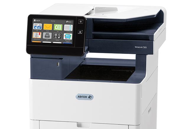 Xerox® VersaLink® C505 multifunctionele kleurenprinter